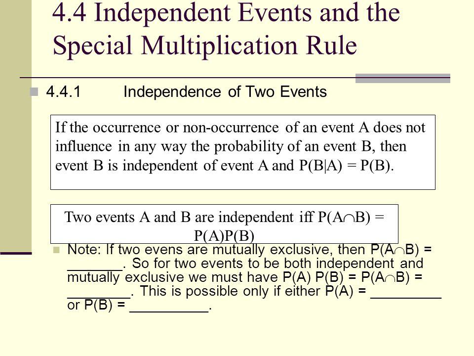 Example 1 A die is thrown twice.