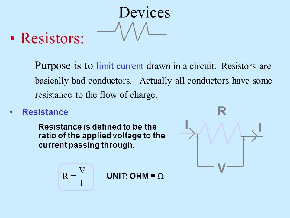 Charging Discharging RC t 2RC 0 -  R I t q 0 CC RC t q 2RC 0 CC I 0 t  R