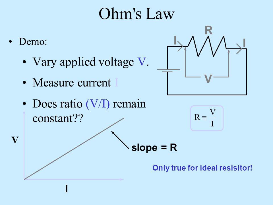 Junction Demo Outside loop: Top loop:Junction:  I1I1   R R R I2I2 I3I3
