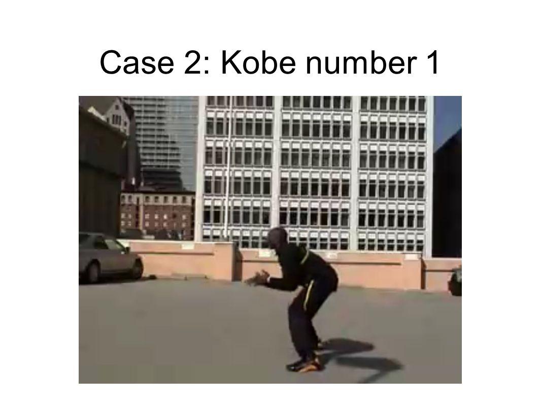 Case 2: Kobe number 1