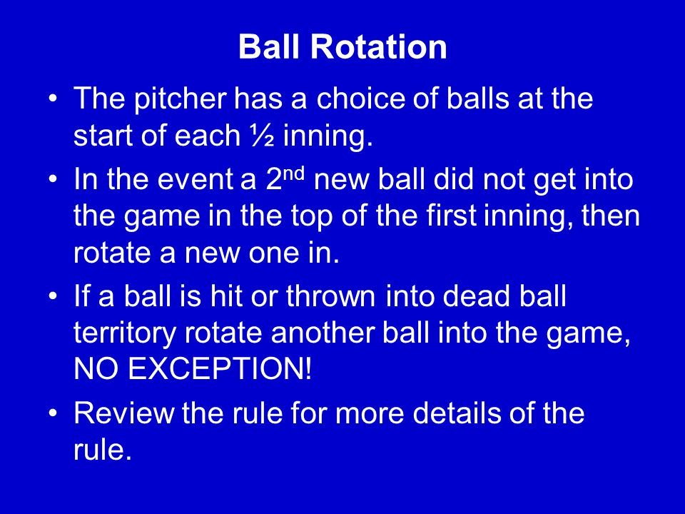 Button-Hook Technique With no runners on base and there is a clean base hit to the outfield, the base umpire needs to come and button-hook .
