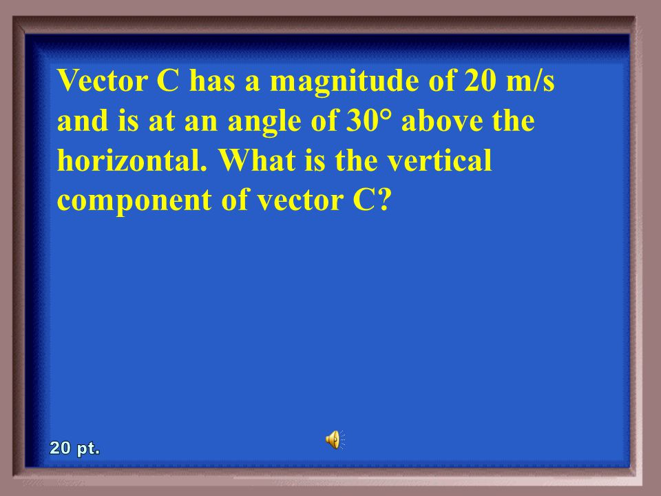 4-15A How can you calculate the vertical component of vector B .