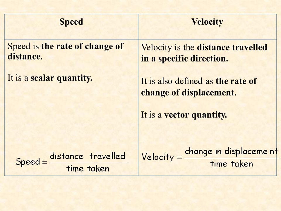 When evaluating the velocity of an object, one must keep track of direction.