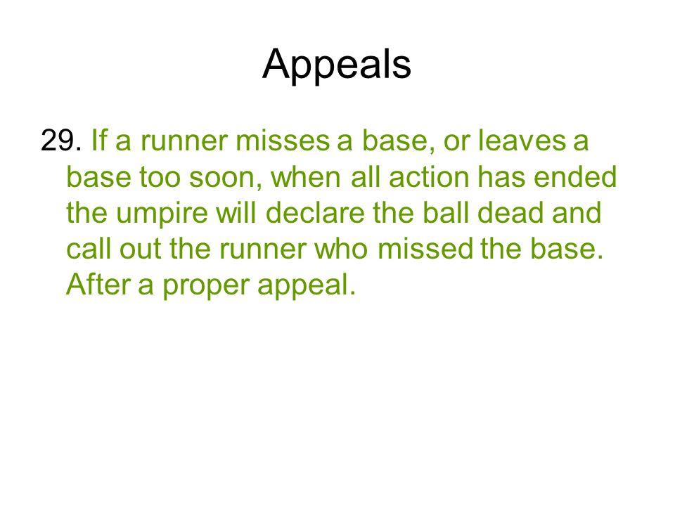 Appeals 29.
