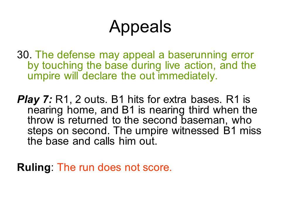 Appeals 30.