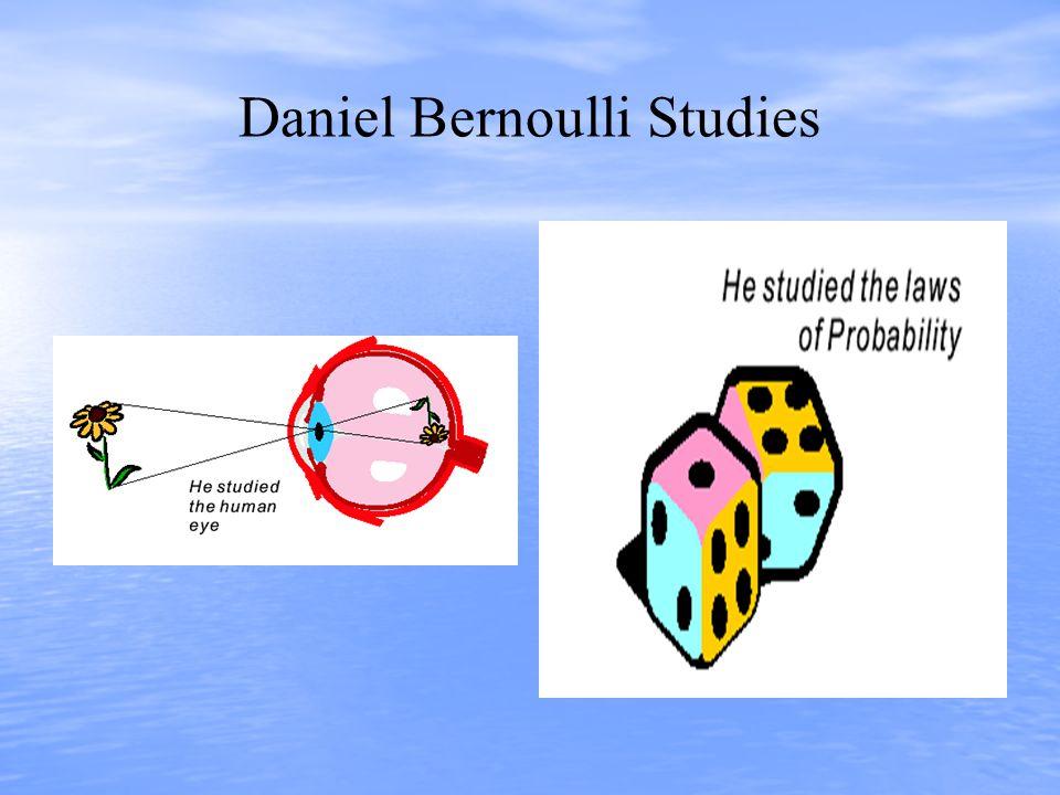 Daniel Bernoulli Studies