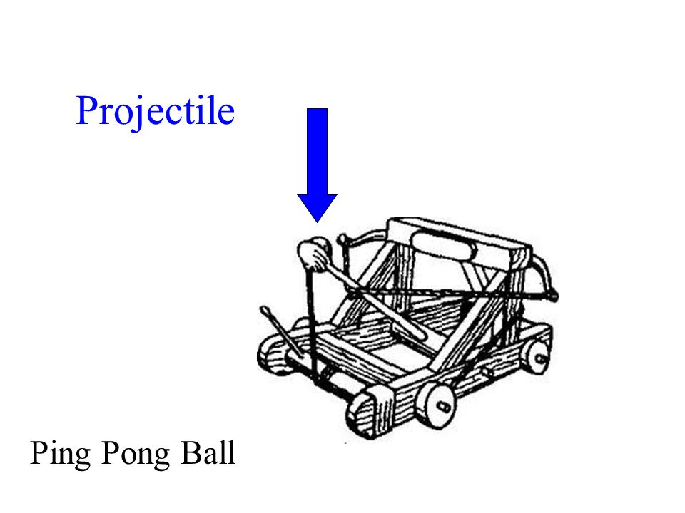Projectile Ping Pong Ball
