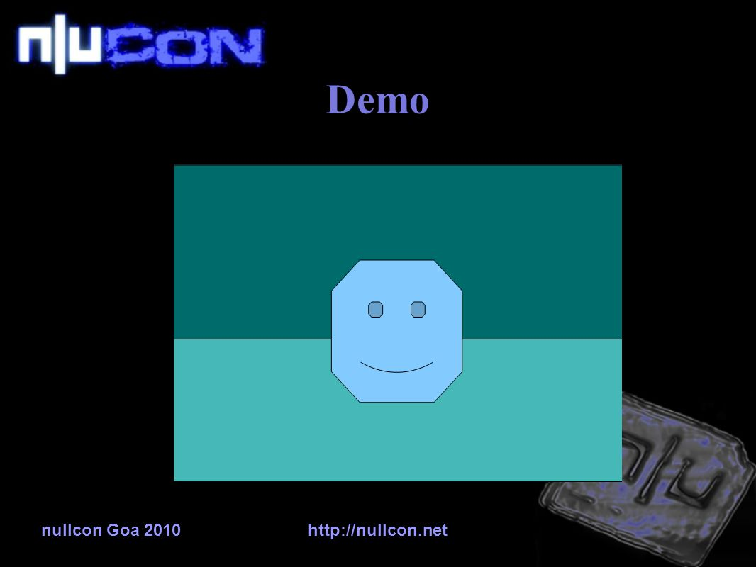 nullcon Goa 2010http://nullcon.net Demo