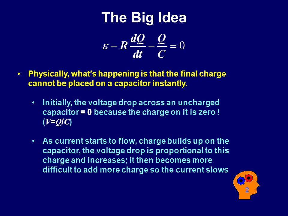 The Big Idea Previously: –Analysis of multi-loop circuits with batteries and resistors.