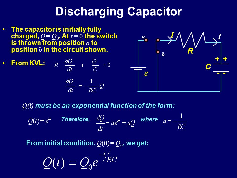 Behavior of Capacitors Charging –Initially, the capacitor behaves like a wire.