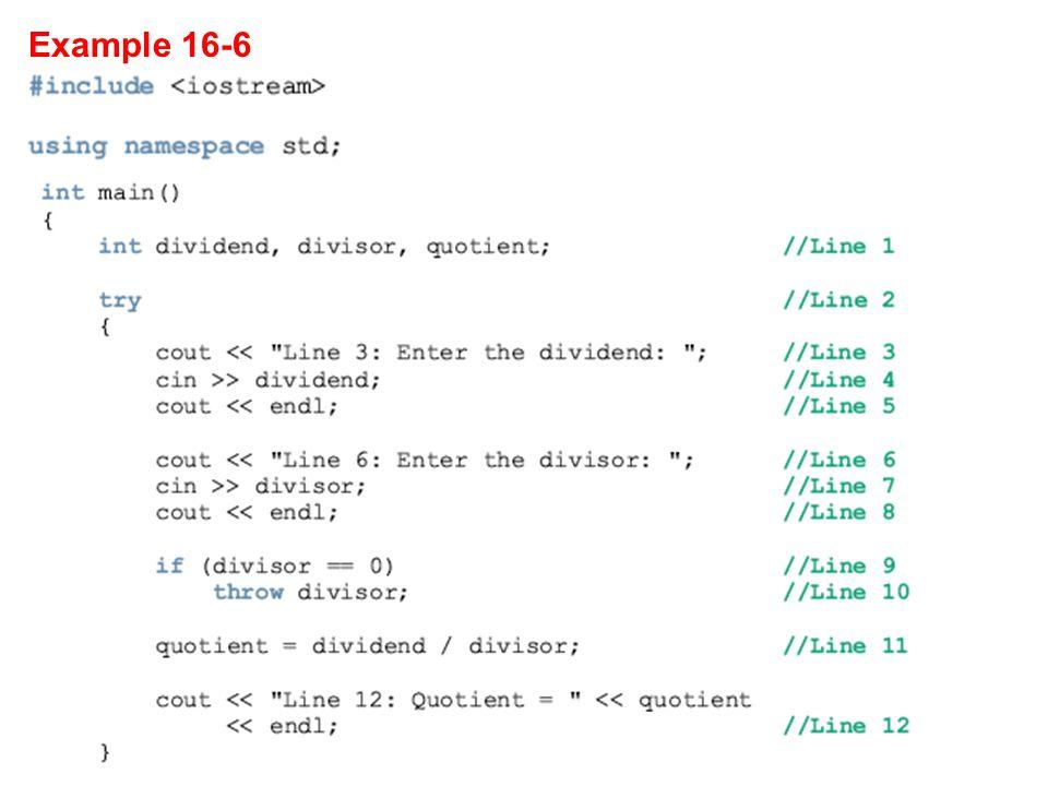 Example 16-6