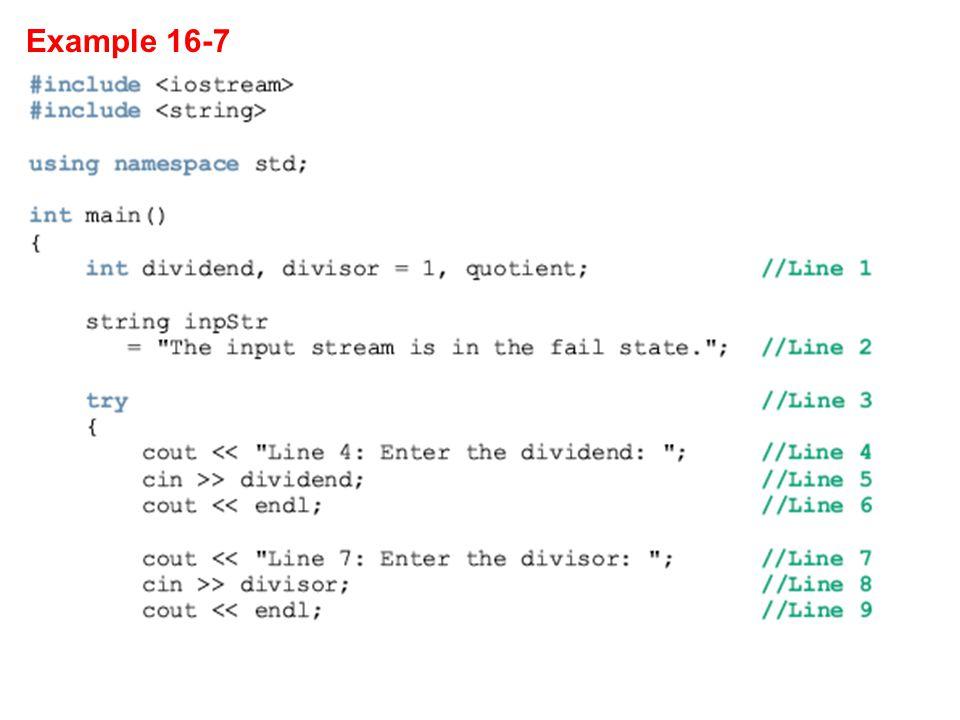 Example 16-7