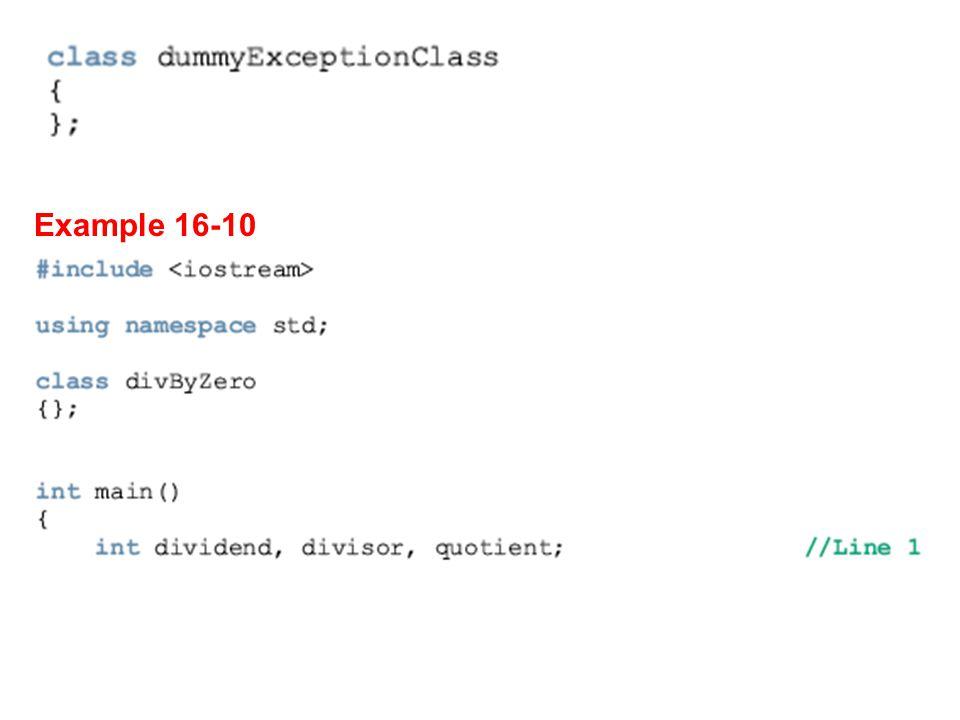 Example 16-10