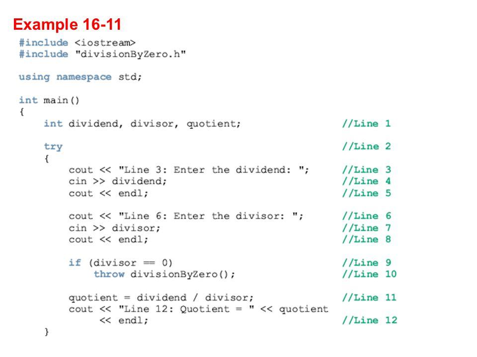 Example 16-11