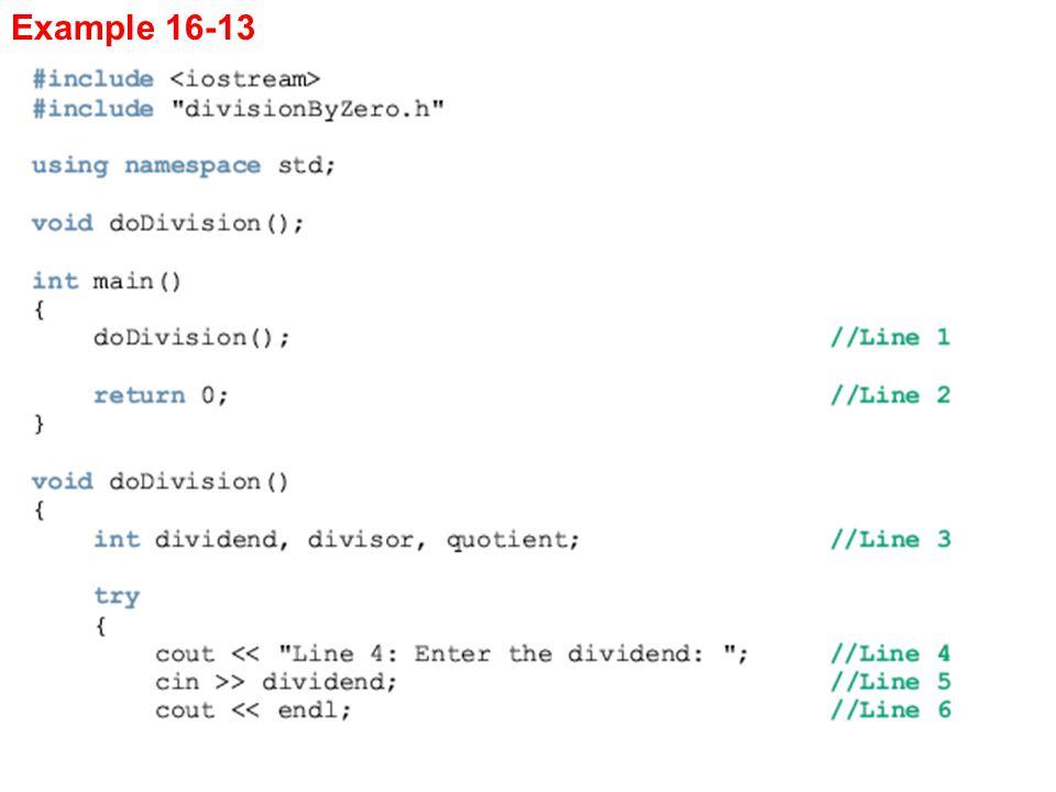 Example 16-13