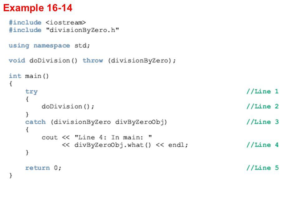 Example 16-14