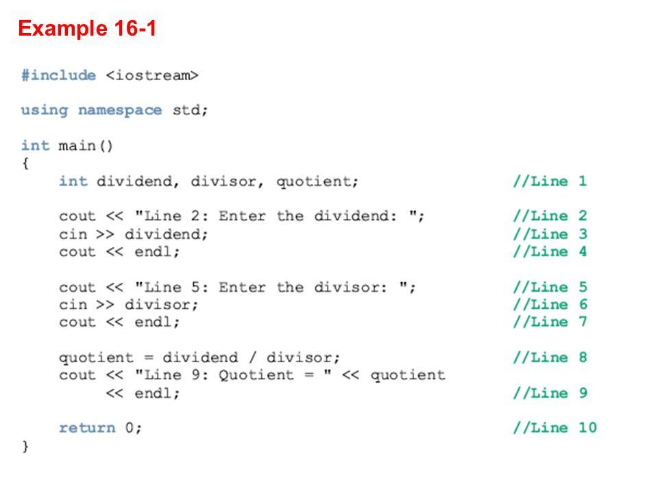 Example 16-1