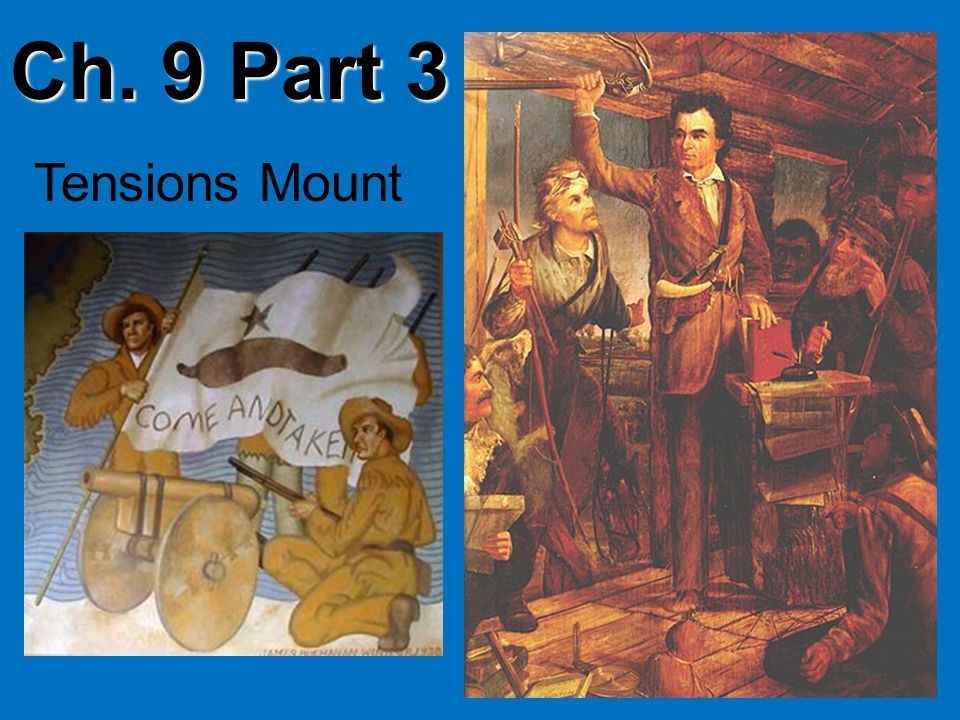 Ch. 9 Part 3 Tensions Mount