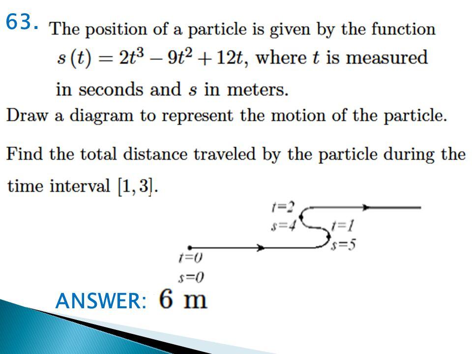 63. ANSWER:
