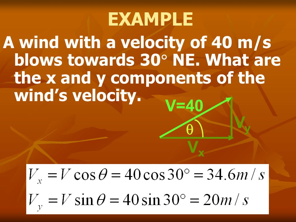 PROJECTILE A projectile is an object with an initial velocity that is allowed to move under the affects of gravity.