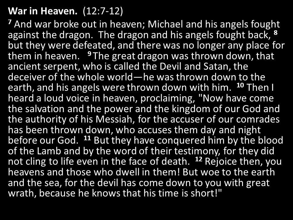 War in Heaven.