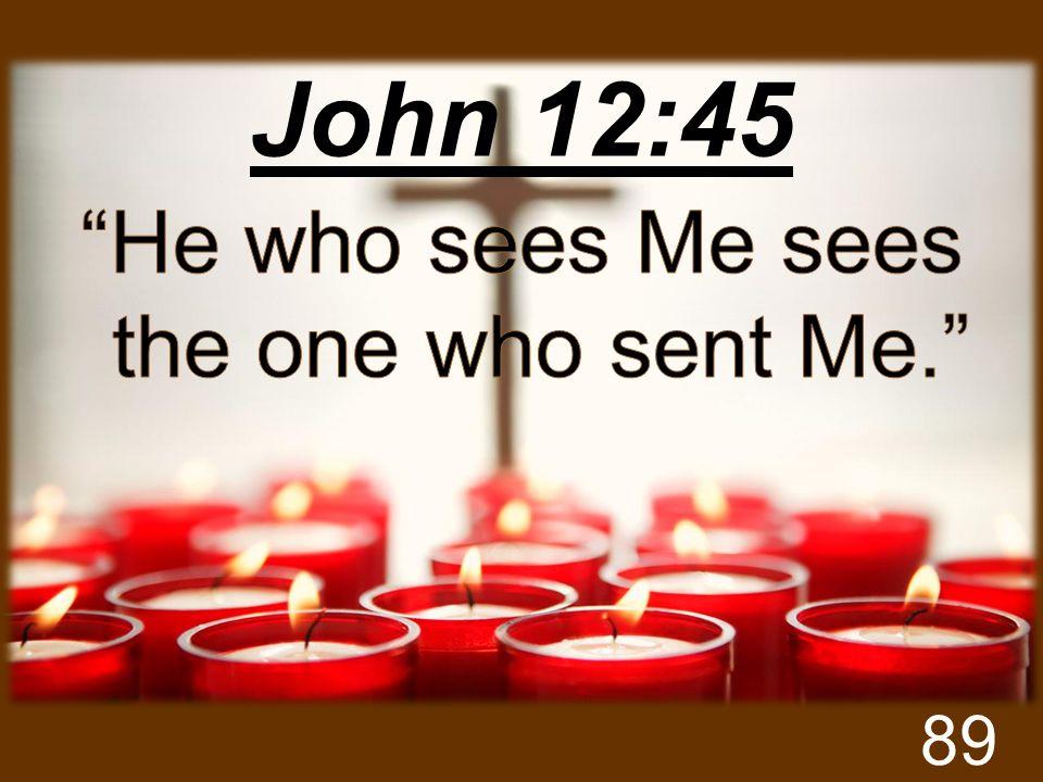John 12:45 89