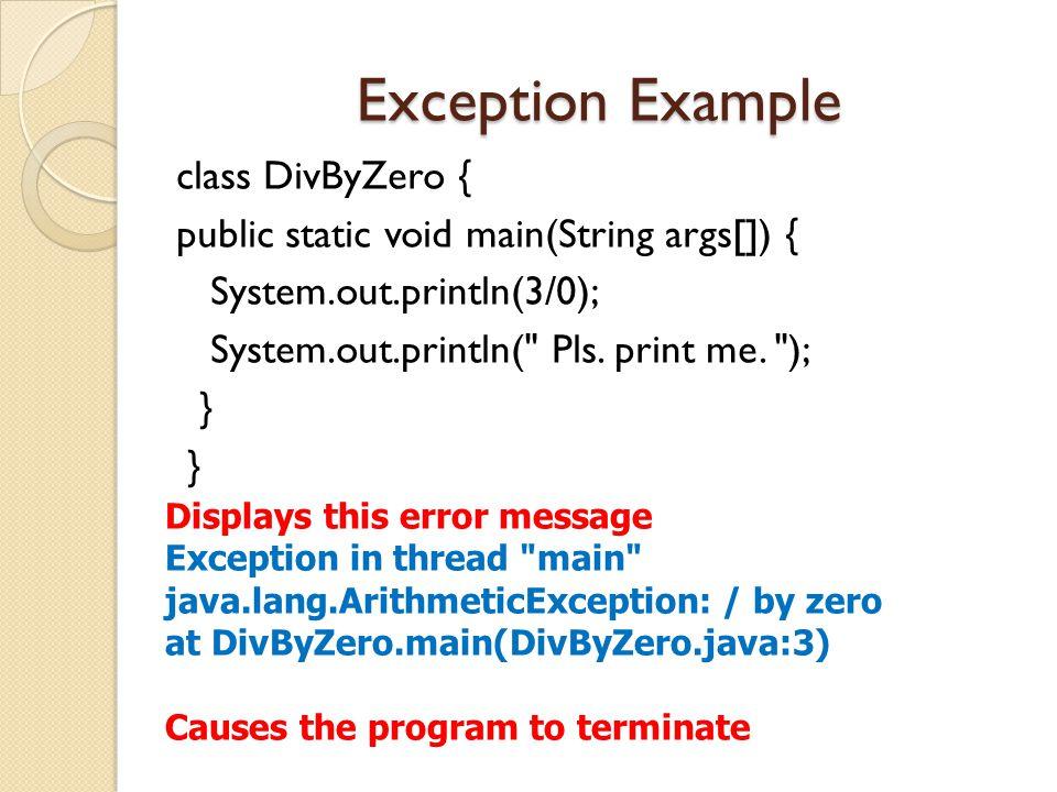 15 Types of error: 1.