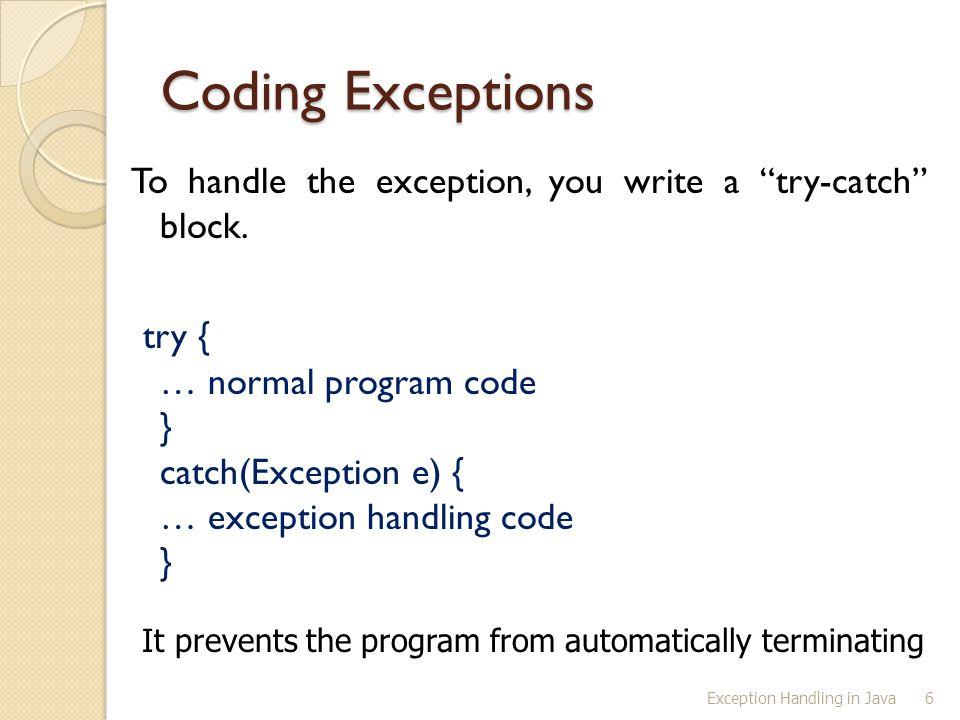17 Catch Runtime Errors