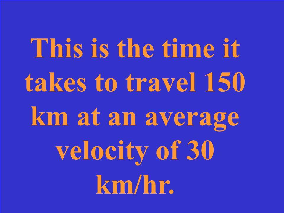 What is the average velocity (v AV )