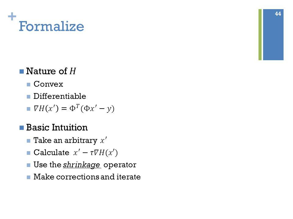 + Formalize 44