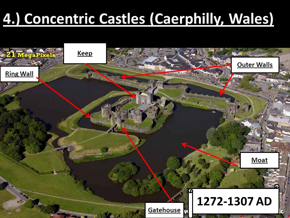 5.) Residential Castles Later on, comfort became more important as life in England became less violent.