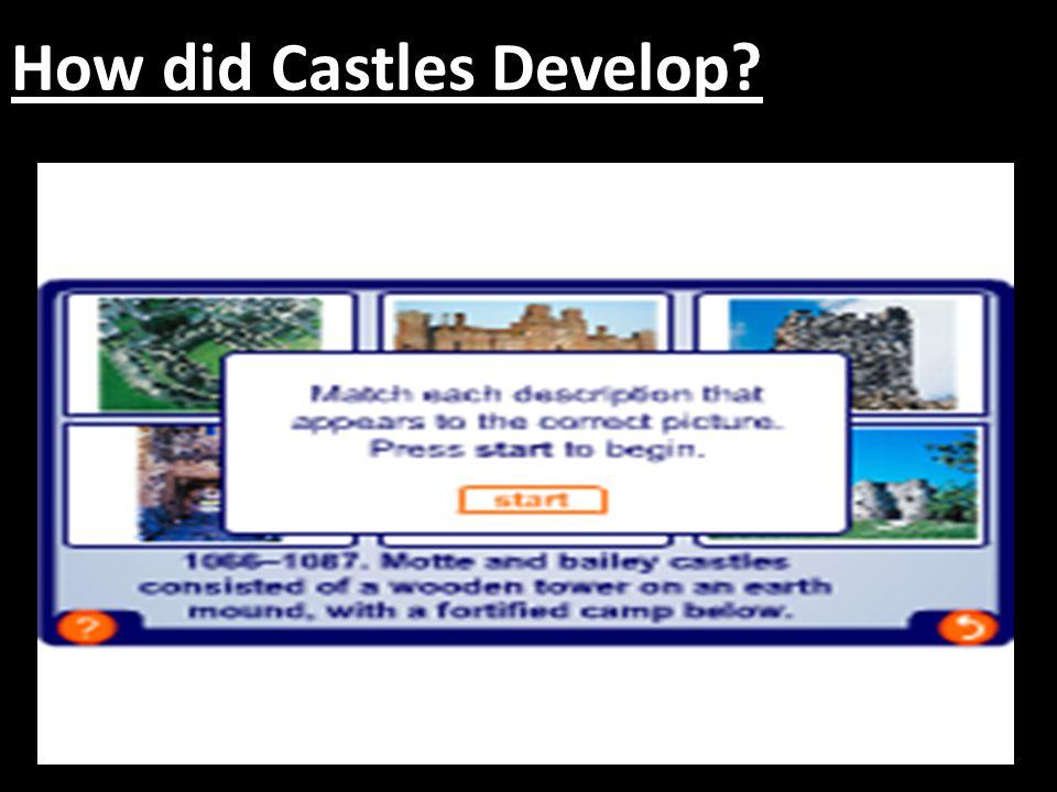 How did Castle Defences change?