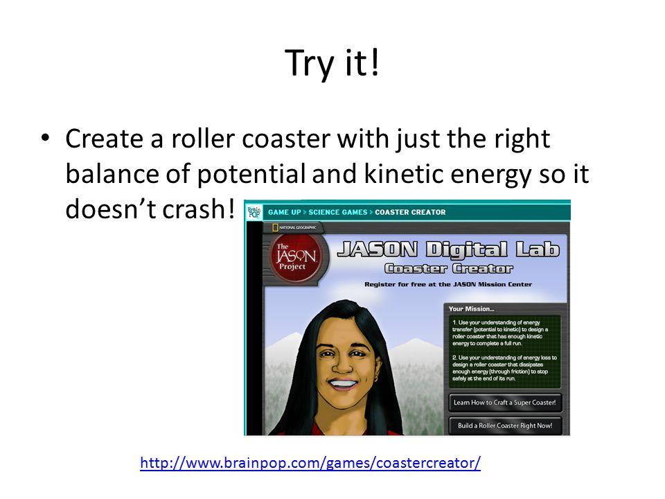 Try it.