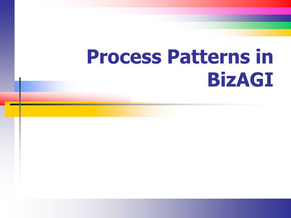 Process Patterns in BizAGI