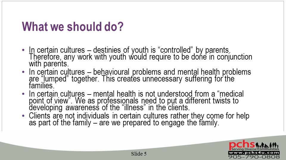 What we should do. In certain cultures – destinies of youth is controlled by parents.