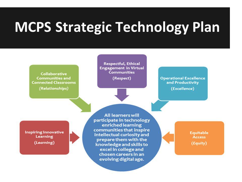 MCPS Strategic Technology Plan