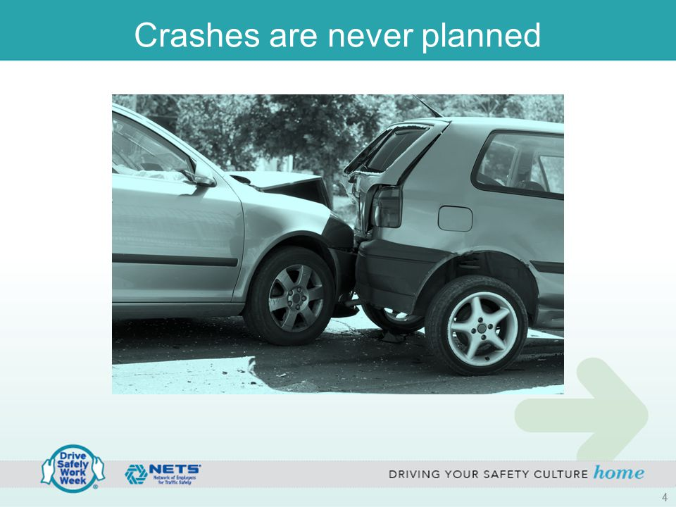 Crashes are never planned 4