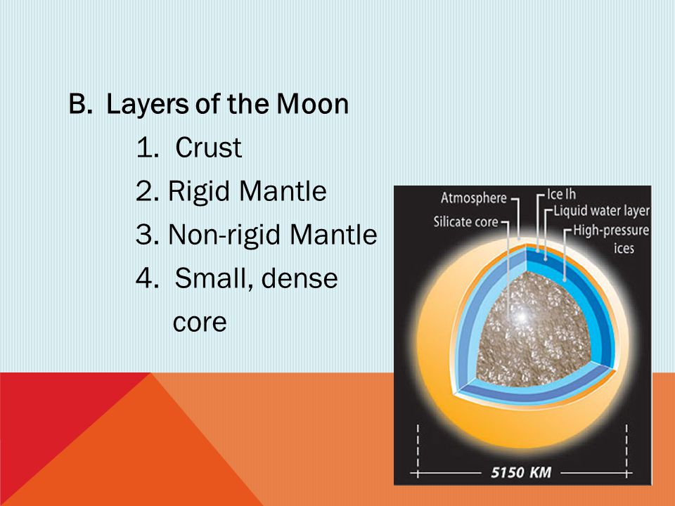 C.Motions of the Moon -the moon always keeps the same side facing the Earth -27.3 days to orbit the Earth -27.3 days to rotate once on its axis