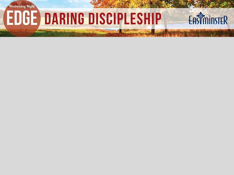 Ben Marquez Director of Discipleship bmarquez@eastminster.org 316.737.6383 Welcome