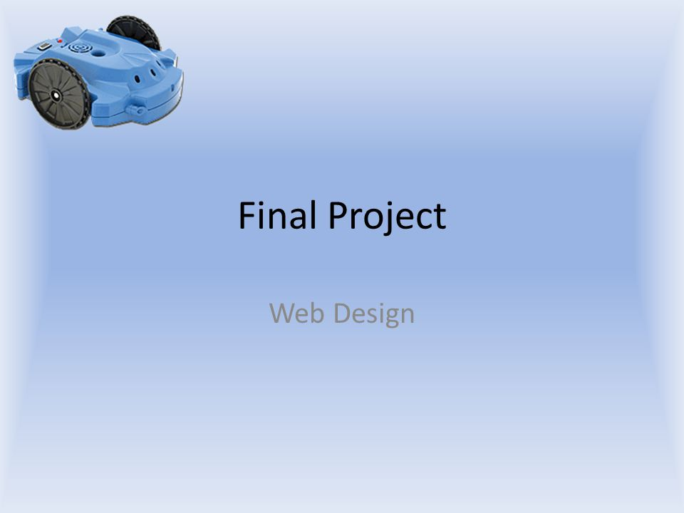 Final Project Web Design