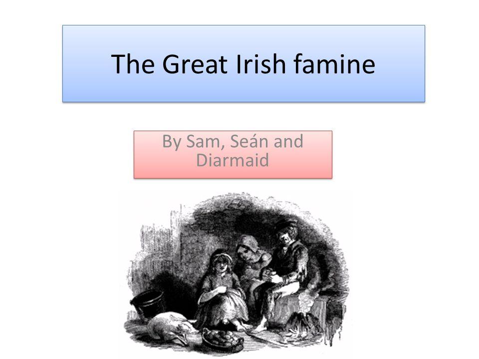 The Great Irish famine By Sam, Seán and Diarmaid