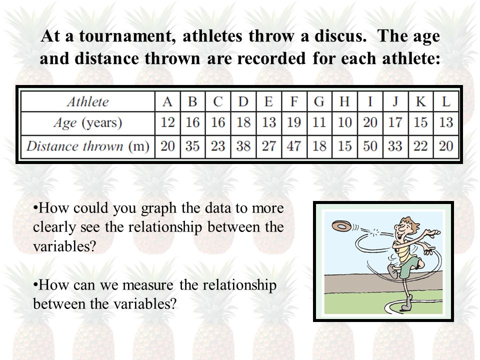 At a tournament, athletes throw a discus.
