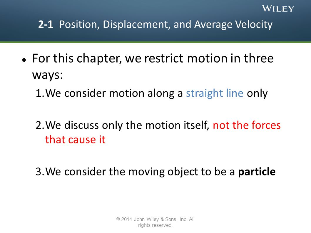 Acceleration = the rate of change of velocity.