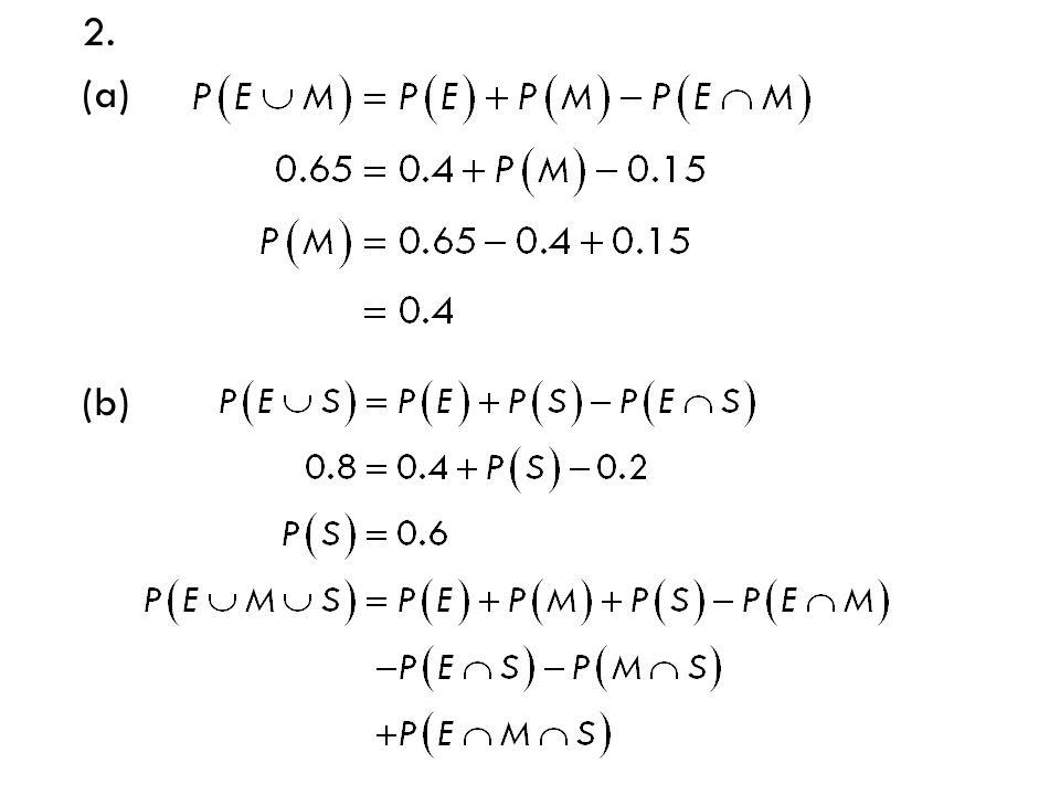 2. (a) (b)