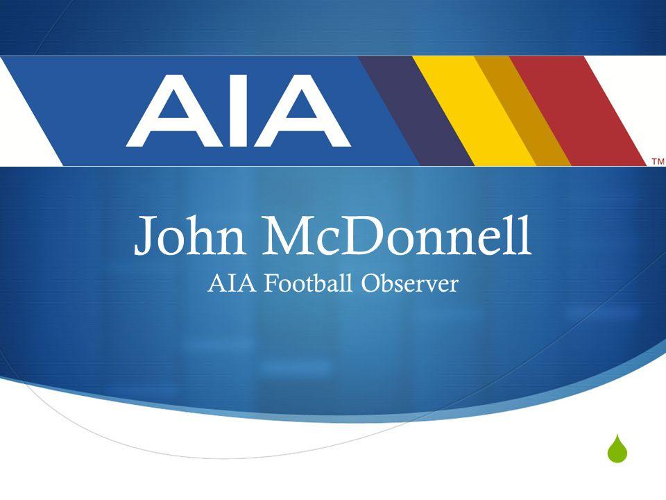  John McDonnell AIA Football Observer