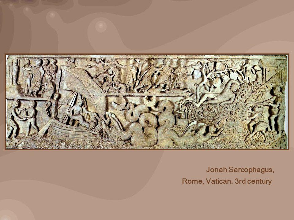 Jonah Sarcophagus, Rome, Vatican. 3rd century
