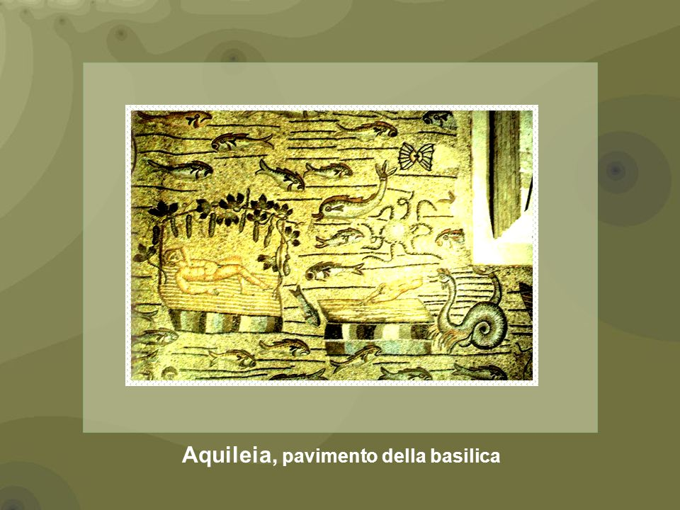 Aquileia, pavimento della basilica