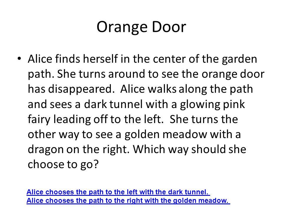 Dark Tunnel The glowing pink fairy lights the way down the dark tunnel.