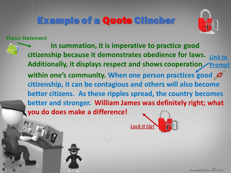 In summation, it is imperative to practice good citizenship because it demonstrates obedience for laws.