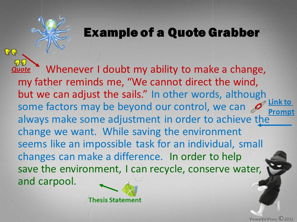 In summation, recycling and conserving water will help the environment.